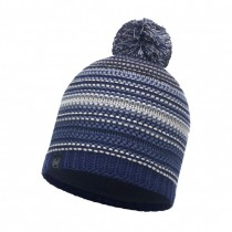 BUFF - KNITTED & POLAR HAT NEPER BLUE INK