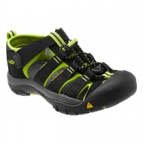 KEEN - NEWPORT H C  BLACK-LIME G - INFANTS