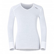 ODLO - SHIRT L/S V-NECK 190881 10000 WMN - WOMEN