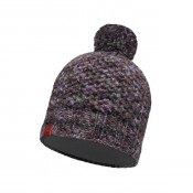 KNITTED & POLAR HAT MARGO PLUM